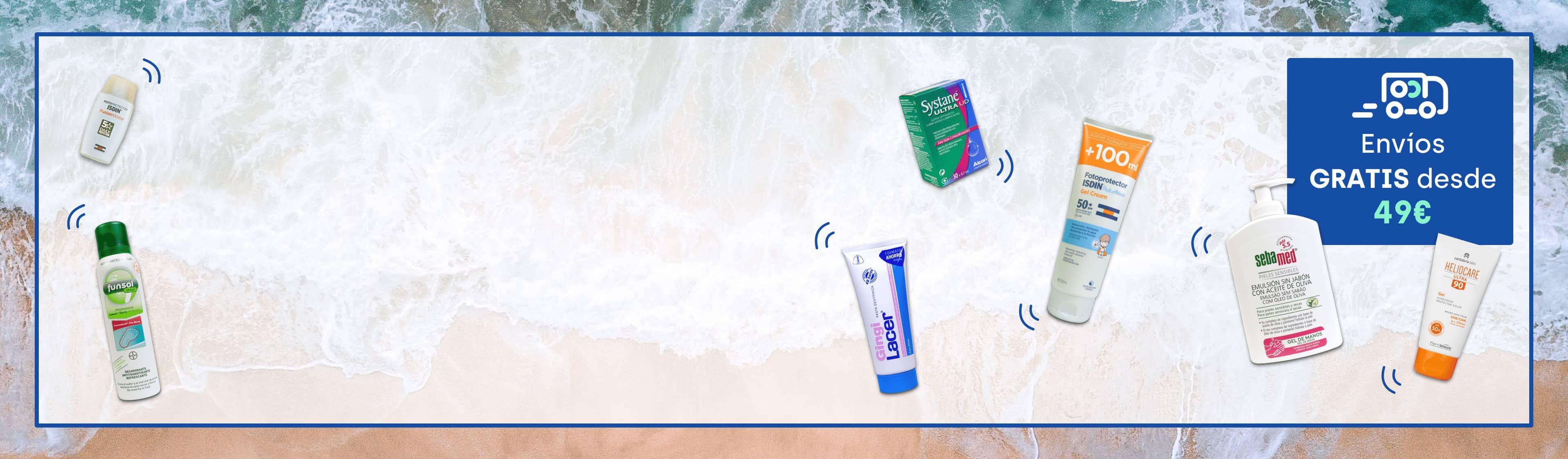 Productos de parafarmacia para tu mejor verano