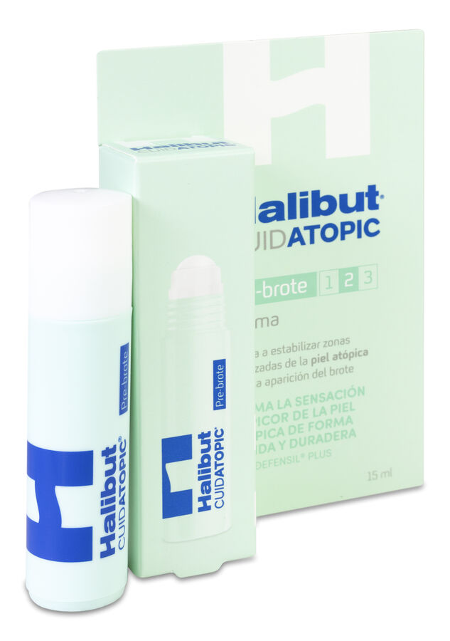 Halibut Crema Pre-Brote Atopía, 15 ml