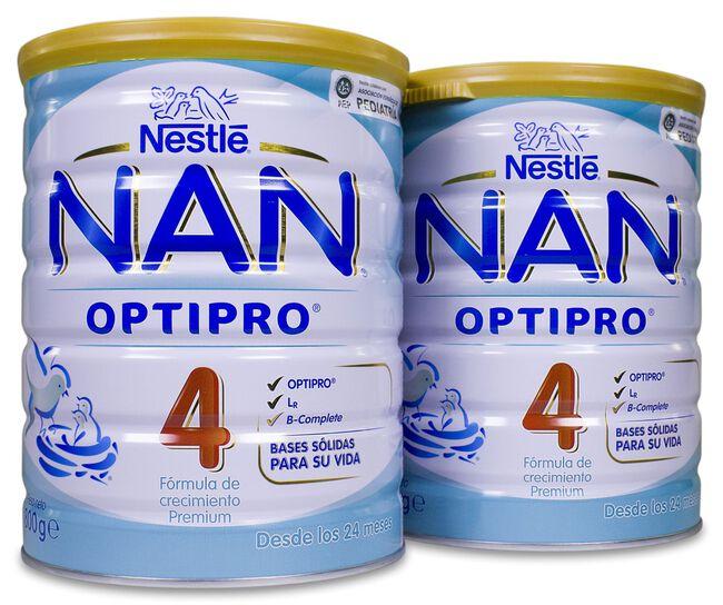 Pack NAN Optipro 4, 2 Uds