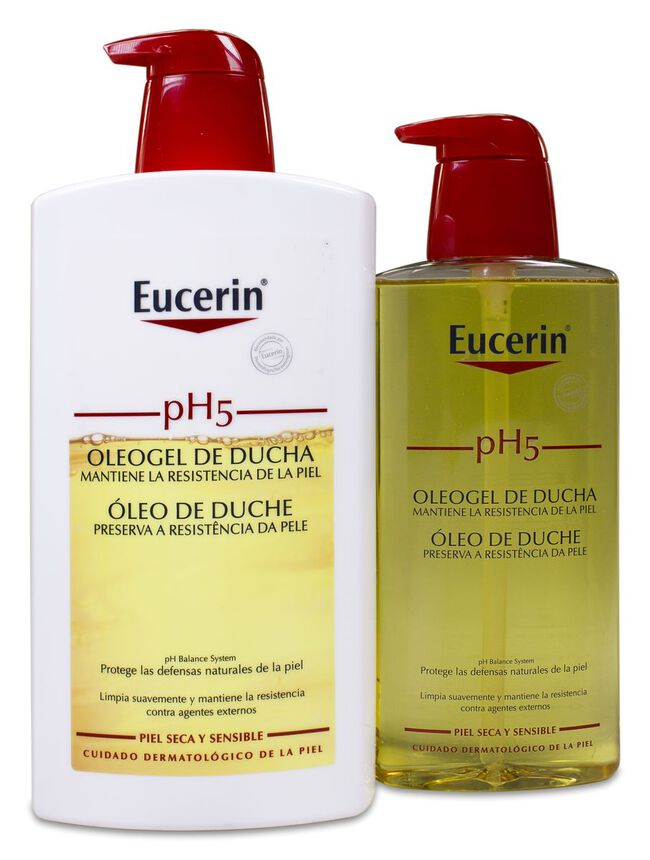 Promoción Eucerin Phe5 Oleogel  1L + Botella 400 ml