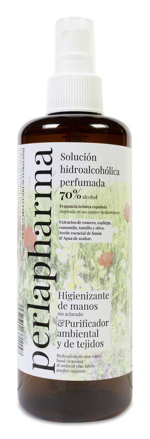 Perlapharma Spray Solución Hidroalcohólica Perfumada, 300 ml