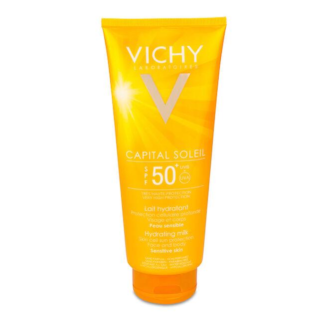 Vichy Ideal Soleil Leche Solar Hidratante SPF 50+, 300 ml