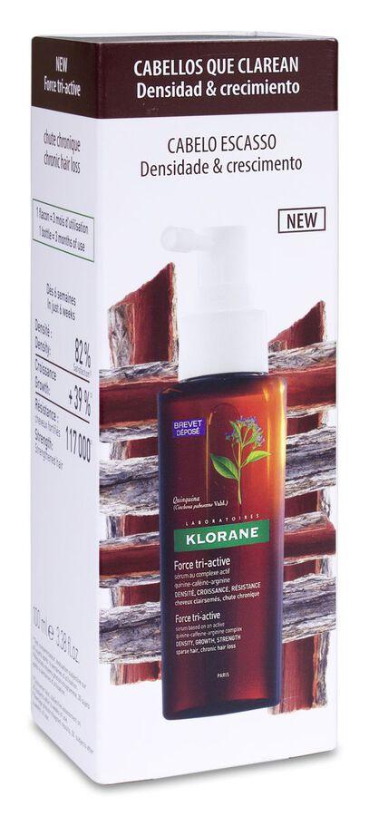 Klorane Complejo Tri-activo Anticaída, 100 ml