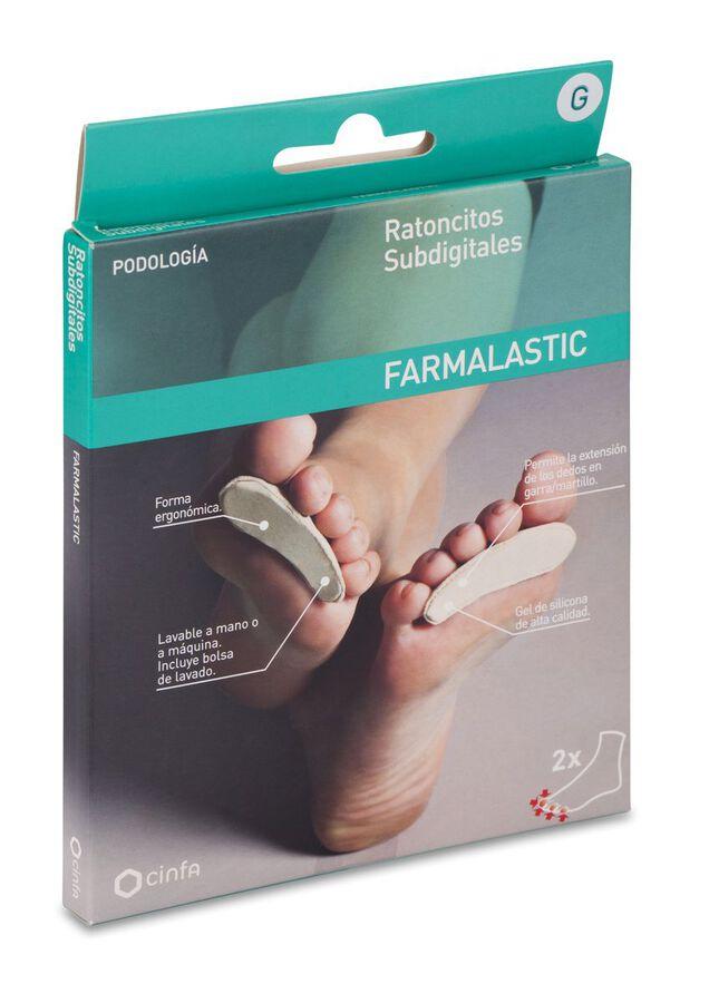 Farmalastic Ratoncitos Subdigitales Caballero, 2 Uds