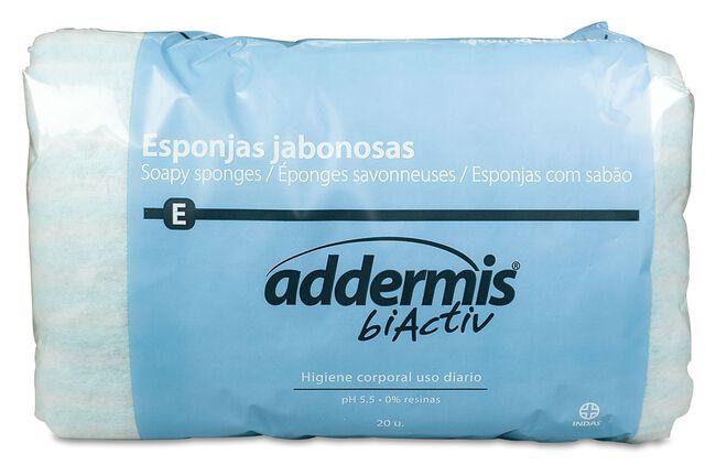 Addermis Esponja Jabonosa, 20 Uds