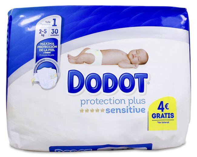 Dodot Sensitive Talla 1 Recién Nacido 2-5 Kg, 28 Uds