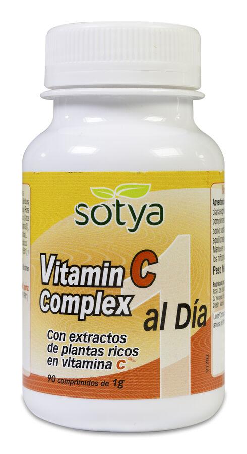 Sotya Vitamina C Complex Natural, 90 Comprimidos