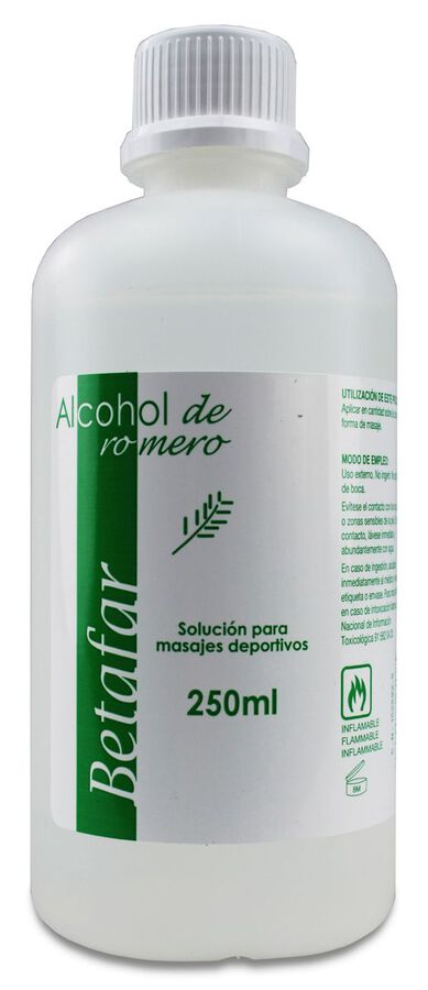 Betafar Alcohol de Romero, 250 ml