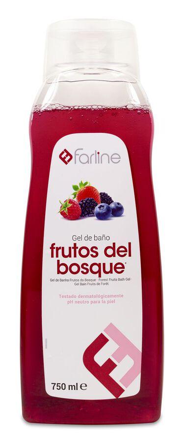 Farline Gel de Baño de Frutos del Bosque, 750 ml