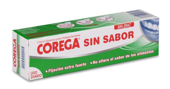 Corega Crema Extra Fuerte Sin Sabor, 40 g