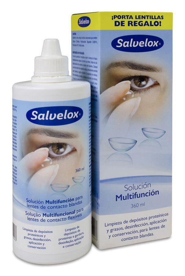 Salvelox Líquido Lentillas, 360 ml