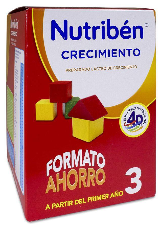Nutribén Crecimiento 3 Formato Ahorro, 1200 g