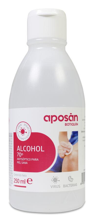 Aposán Alcohol 70º Virucida, 250 ml
