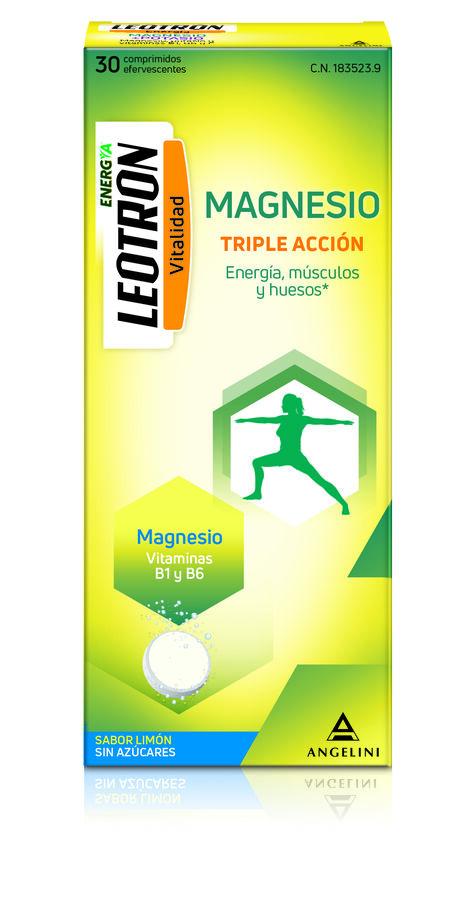 Leotron Magnesio, 30 Comprimidos