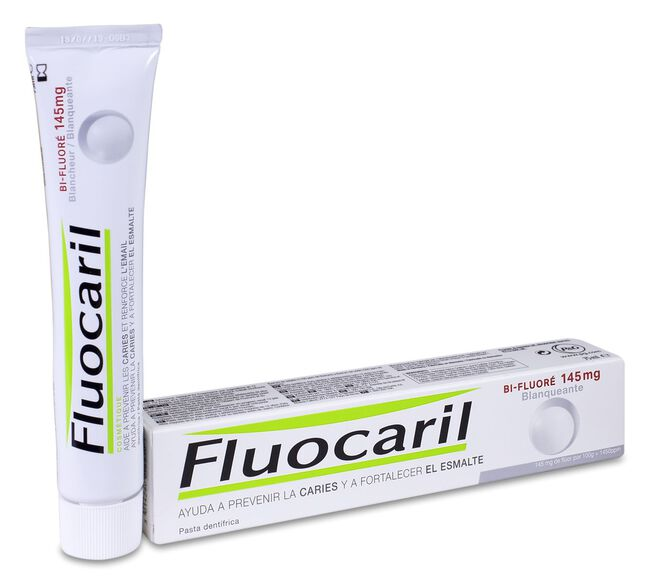 Fluocaril Bi-Fluore Blanqueante, 75 ml