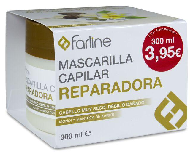 Farline Mascarilla Capilar Reparadora, 300 ml