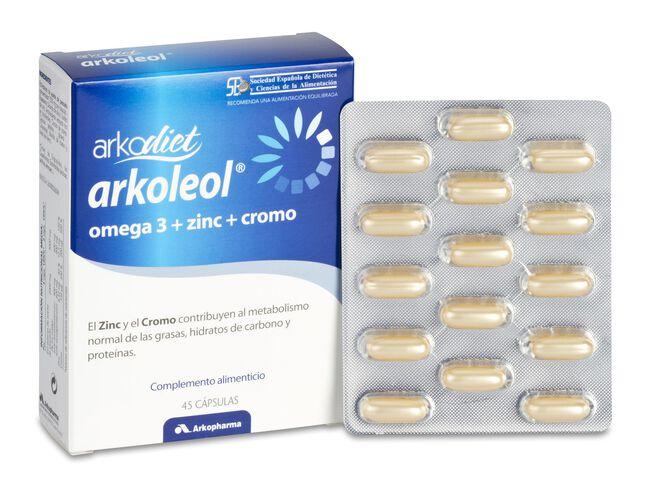 Arkopharma Arkodiet Arkoleol Metaboliza las Grasas, 45 Cápsulas