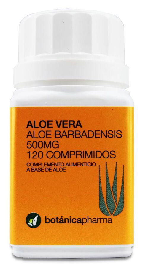 Botánicapharma Aloe Vera 500 mg, 120 Comprimidos