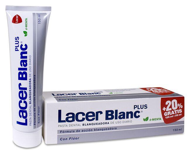 Lacer Blanc Plus Pasta Blanqueadora Menta, 125 ml