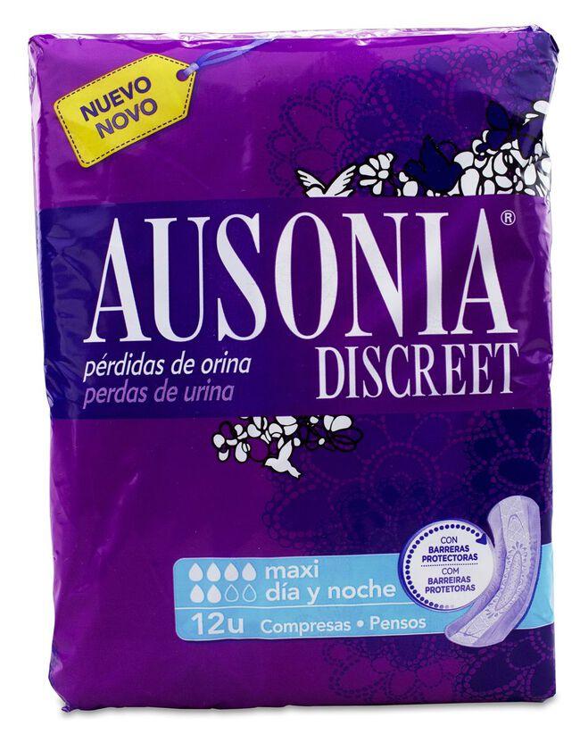 Ausonia Discreet Maxi, 12 Uds