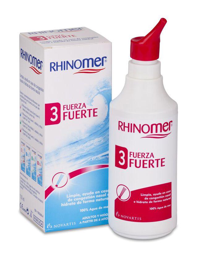 Rhinomer Limpieza Nasal F-3 Nebulizador, 135 ml