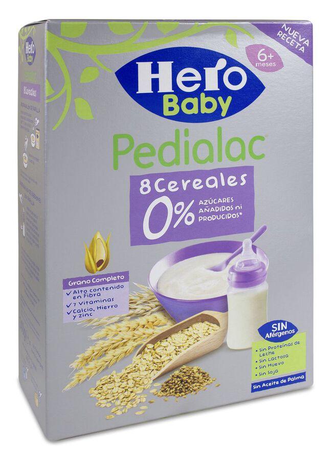 Hero Baby Pedialac Papilla 8 Cereales, 340 g