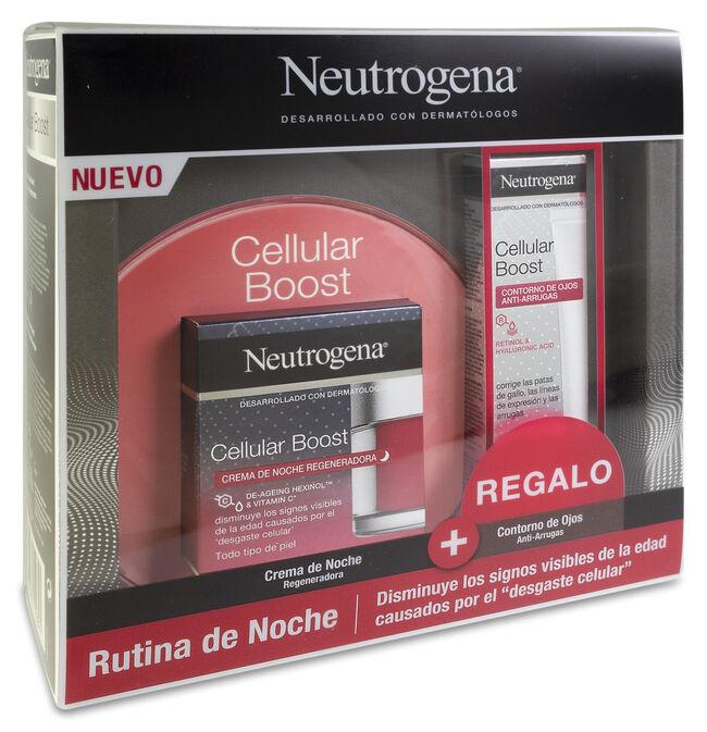 Pack Neutrogena Cellular Boost Crema Noche 50 ml + Contorno Ojos 15 ml