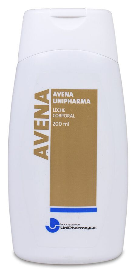 Avena Unipharma Leche Corporal, 200 ml