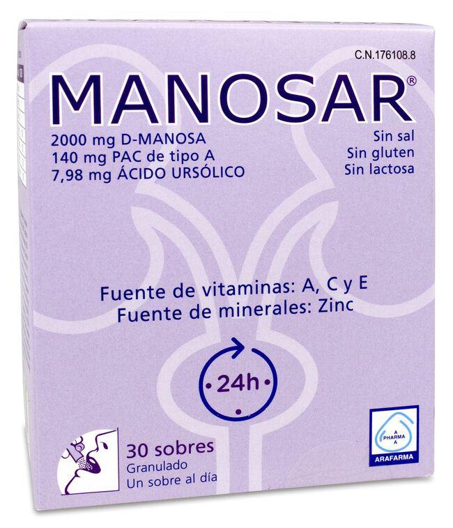 Manosar, 30 sobres image number null