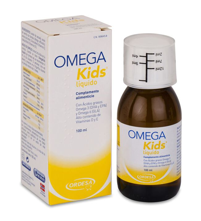Omega Kids Líquido, 100 ml