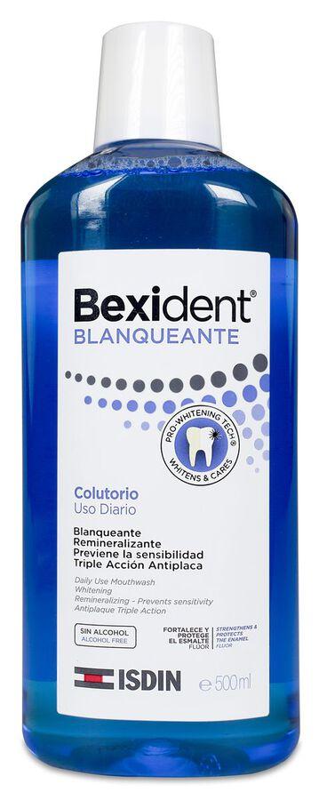 Isdin Bexident Colutorio Blanqueante, 500 ml