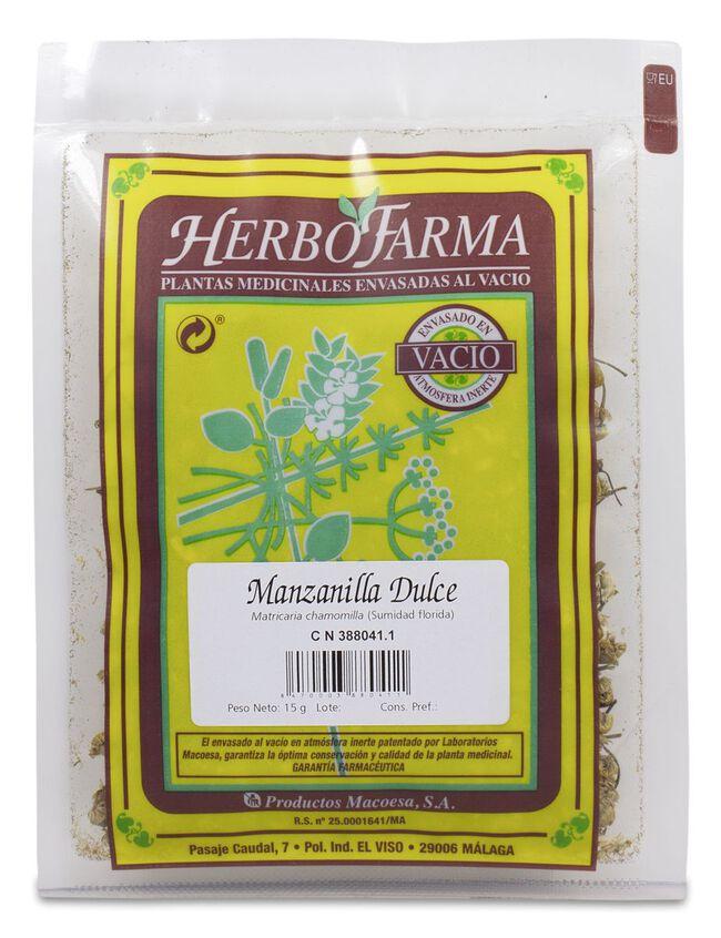 Herbofarma Manzanilla Dulce, 15 g
