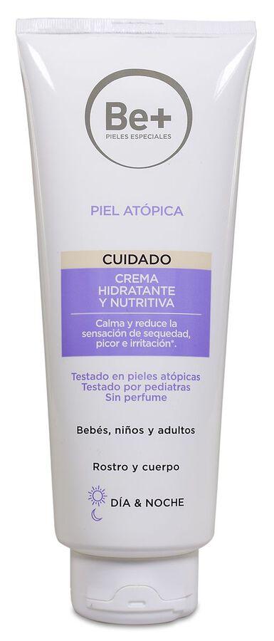 Be+ Piel Atópica Crema Hidratante y Nutritiva, 400 ml