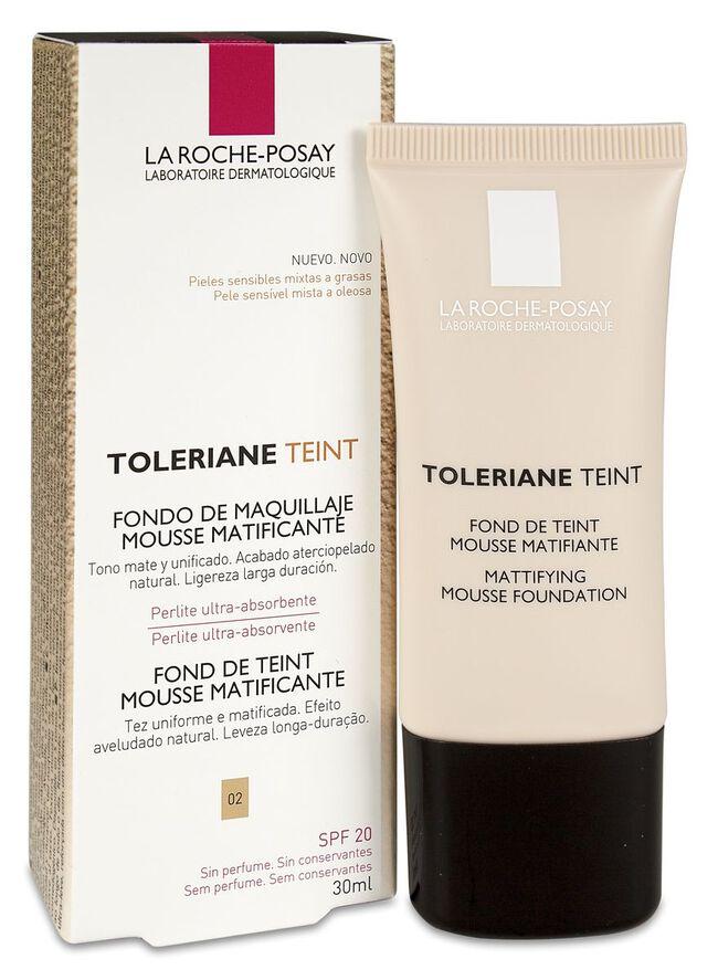 La Roche-Posay Toleriane Teint Fondo Maquillaje 02 SPF20, 30 ml