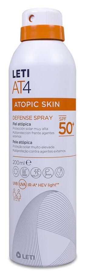 LETI AT-4 Defense Spray Facial SPF 50+, 200 ml