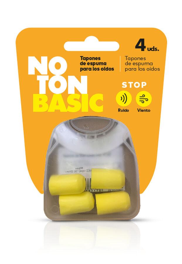 Noton Basic Tapones de Espuma para Oídos, 4 Uds