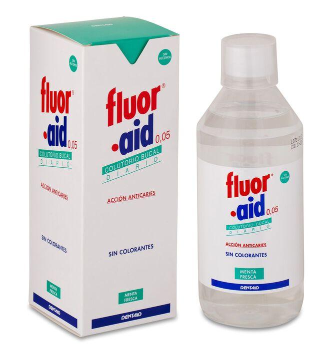 Fluor Aid 0,05% Colutorio, 500 ml