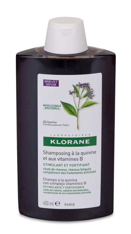 Klorane Champú Fortificante a la Quinina, 400 ml