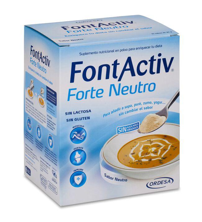 FontActiv Forte Neutro, 10 Sobres