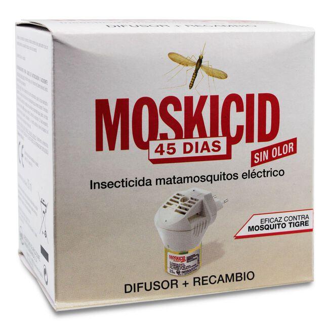 Moskicid Matamosquitos Difusor + Recambio 45 días, 1 Ud