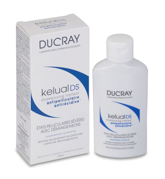 Ducray Kelual Ds Champú Tratante Reductor Anti-recidivas, 100 ml