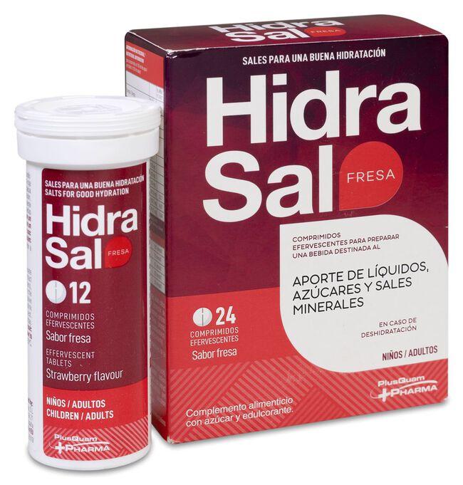 Hidrasal Fresa, 24 Comprimidos