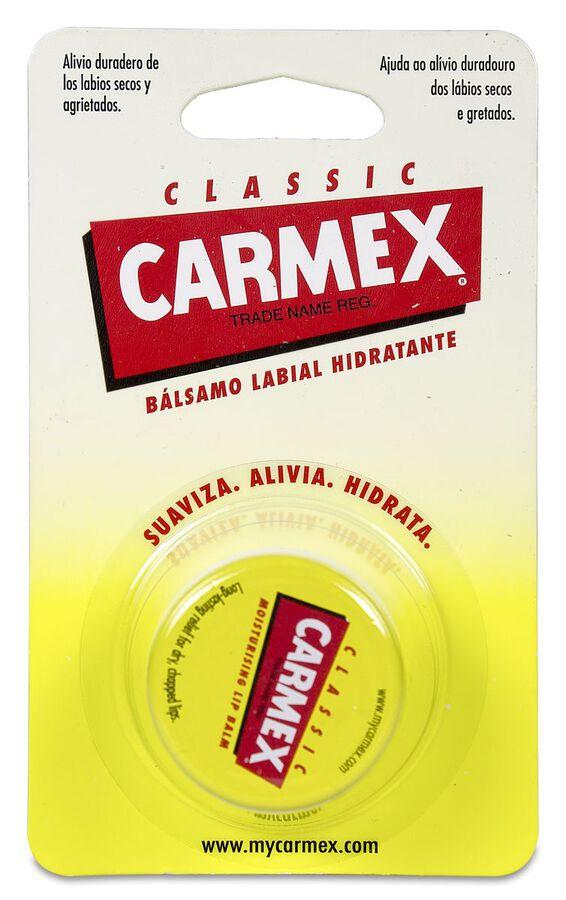 Carmex Bálsamo Labial Hidratante Tarro Original, 7,5 g