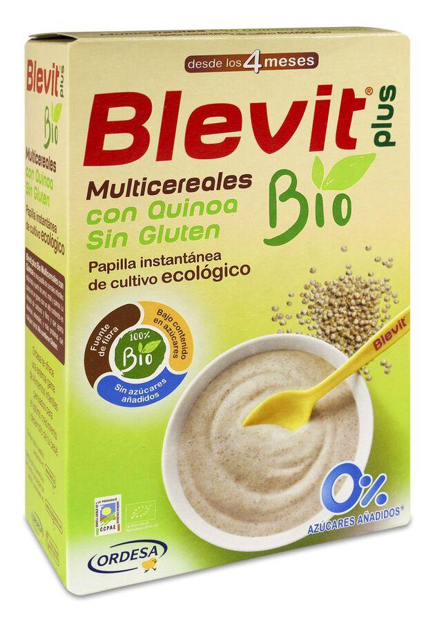 Blevit Plus Multicereales con Quinoa sin Gluten BIO, 250 g