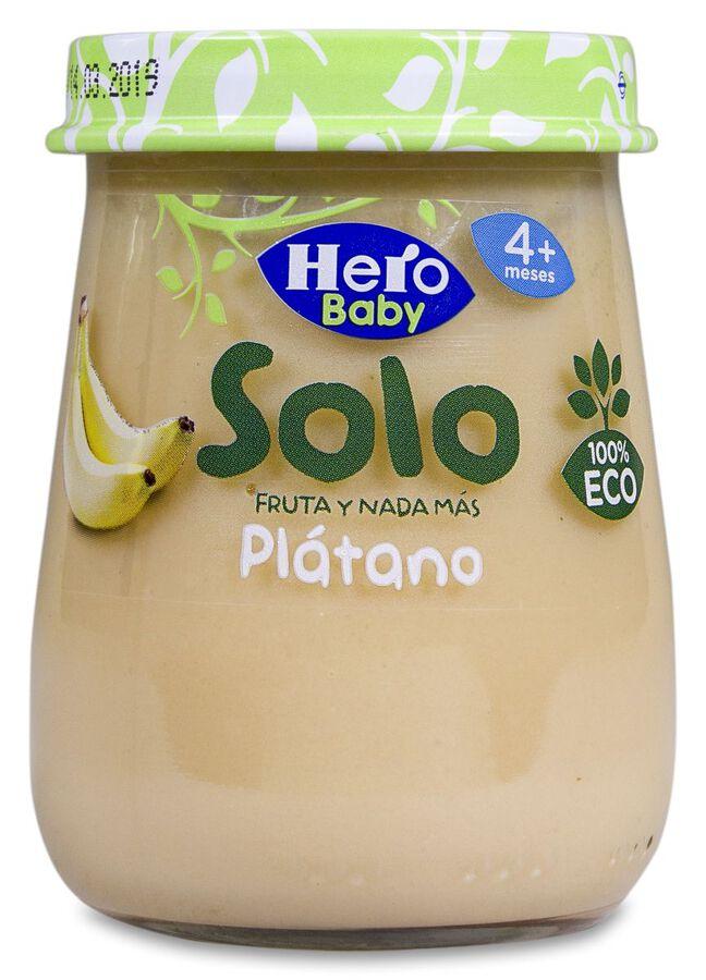 Hero Baby Solo Plátano, 120 g