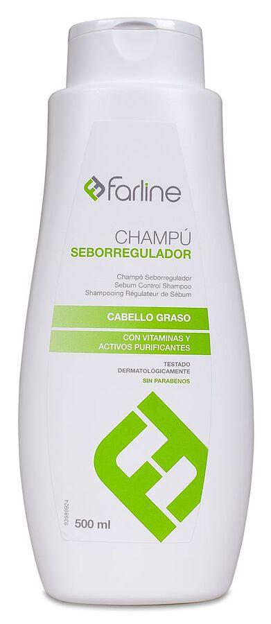 Farline Champú Seborregulador, 500 ml