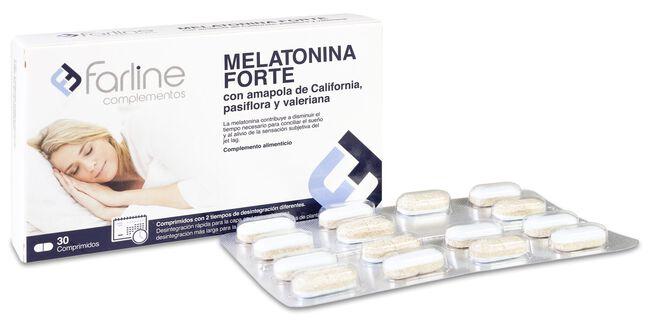 Farline Melatonina Forte, 30 Comprimidos