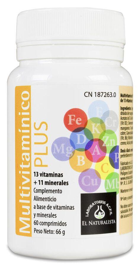 Multivitaminico Plus, 60 Comprimidos