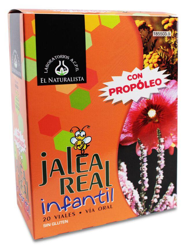 El Naturalista Jalea Real Infantil, 20 Viales