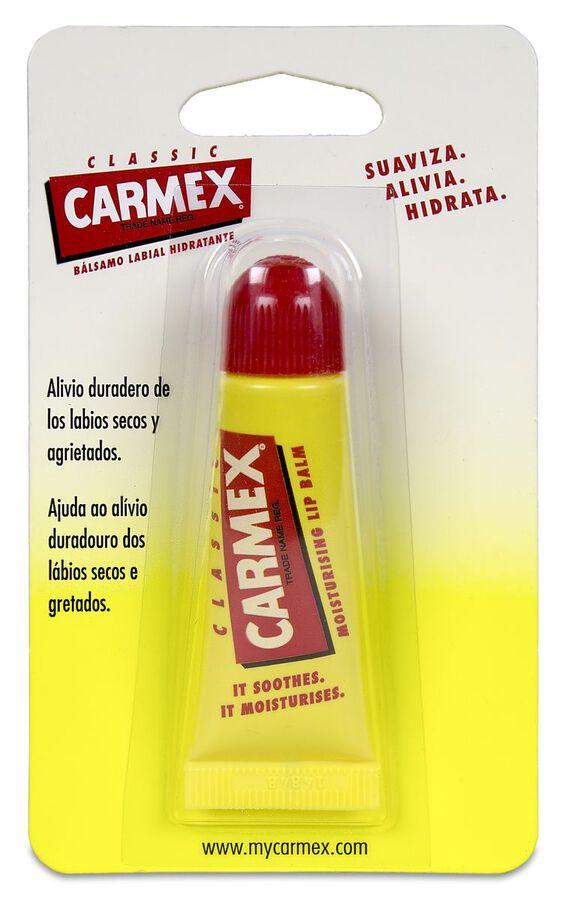 Carmex Bálsamo Labial Hidratante Tubo Original, 10 g